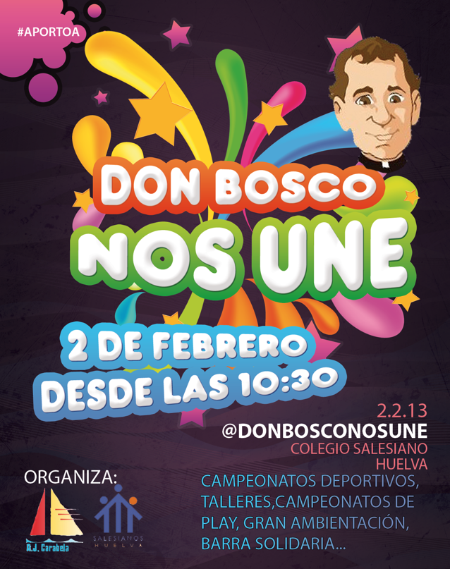 cartel fiesta don bosco