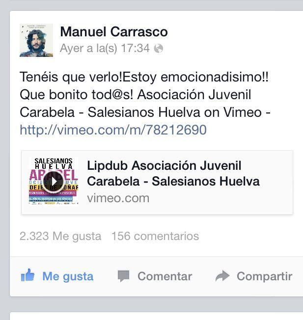 manuel carrasco en facebook